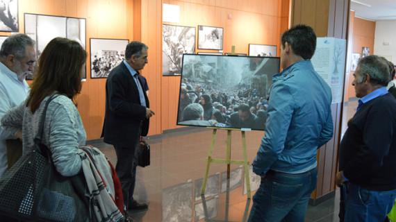 San Juan del Puerto acoge la exposición itinerante 'El largo viaje' sobre los refugiados de Palestina