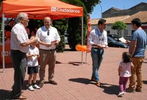 Acto de campaña electoral de Ciudadanos.