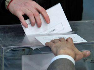 Primeros resultados electorales.