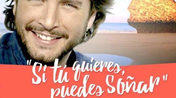 Manuel Carrasco graba estos días un spot para Interfresa en Isla Cristina
