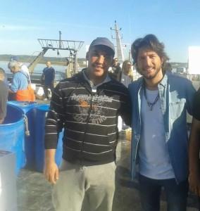 Manuel Carrasco y Chico son amigos de la infancia.