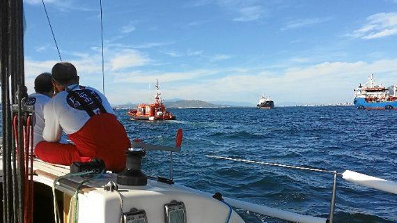 Rescatados seis tripulantes tras hundirse su embarcación mientras navegaban en Mazagón
