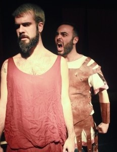 El onubense ha trabajado como cantante, bailarín y actor. En la foto, en la obra de teatro '¿Y si yo fuera un pez?'.