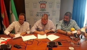 Convenio de colaboración entre el Consistorio de Cartaya y Cruz Roja.