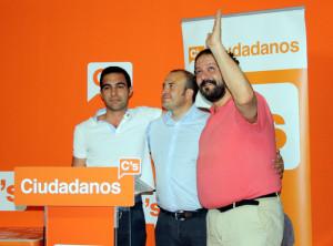 Julio Díaz ha ofrecido el balance de Ciudadanos tras la noche electoral.