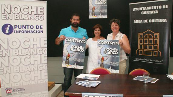 La III Noche en Blanco convertirá a Cartaya en el epicentro cultural de la provincia el 15 de julio