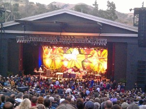 Concierto de Ringo Starr en el Greek Theater, en Los Ángeles.