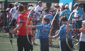 Gran actuación de los arqueros onubenses en el Campeonato celebrado en Almería.