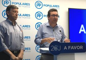 Carmelo Romero y Manuel Andrés González hacen balance del resultado electoral.