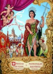 Cartel de las fiestas patronales de Alosno 2016.