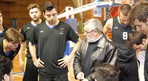 Ricardo Vilches, un año más en la EBA con el CDB Enrique Benítez.