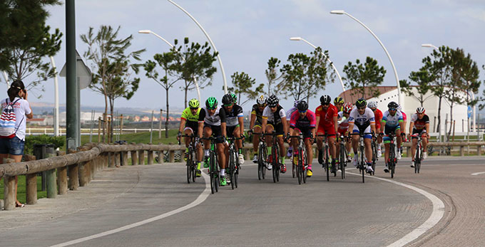 Javier Sánchez Cidoncha y Annika Wasmundt, los ganadores en la prueba de ciclismo.