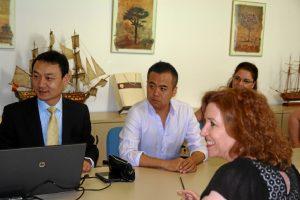 La universidad china se ha convertido en socio Erasmus de la UHU.
