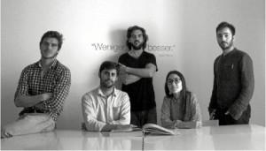Imagen de los miembros del estudio de arquitectura 'Barak'.