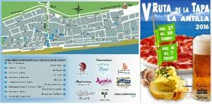 La V Ruta de la Tapa de La Antilla dará comienzo el lunes 27 de junio.