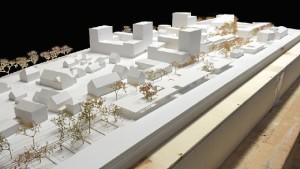 Imagen de la maqueta del proyecto ganador en Alemania.