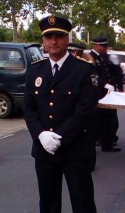 El policía José Manuel Domínguez.