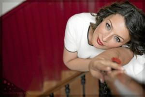 Mara Barros se siente ilusionada y nerviosa ante el concierto de esta noche.