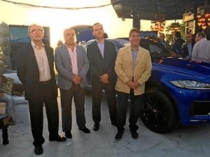 Ignacio Montes Galnares, gerente GYSA Huelva, junto al equipo comercial.