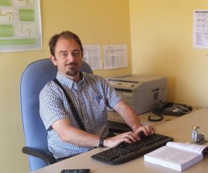 El investigador de la Universidad de Huelva Diego A. López García.