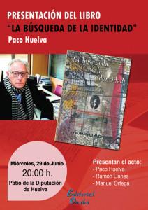 Paco Huelva presenta su nuevo libro.
