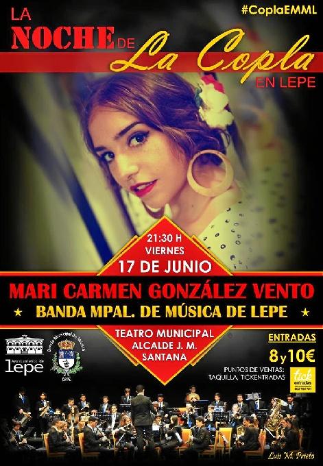 Cartel del espectáculo que se celebrará en Lepe.