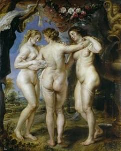 'Las tres gracias' de Rubens.