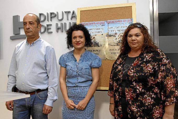 Momento de la presentación del programa 'Vacaciones en Paz'.