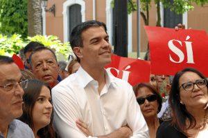 Sánchez ha instado a la movilización ciudadana de cara a la cita electoral. / Foto: José Rodríguez.