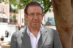 Manuel Guerra, candidato número 1 al Senado por el PSOE de Huelva. / Foto: José Rodríguez.