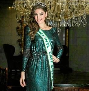 Miss World Huelva actual, María José García.
