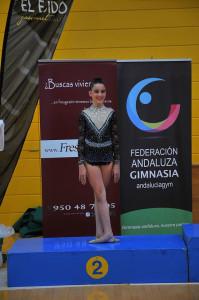 Marta Gómez, subcampeona de Andalucía.
