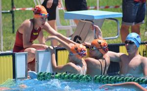 Gran actuación del CN Huelva en el Campeonato celebrado en Mairena del Aljarafe.