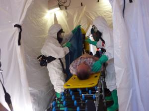 Las supuestas víctimas de la catástrofe tecnológica atendidas por los sanitarios.