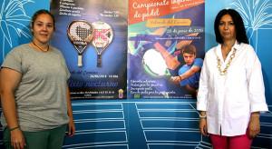 Un momento de la presentación de los torneos de pádel que se celebran en Valverde del Camino.