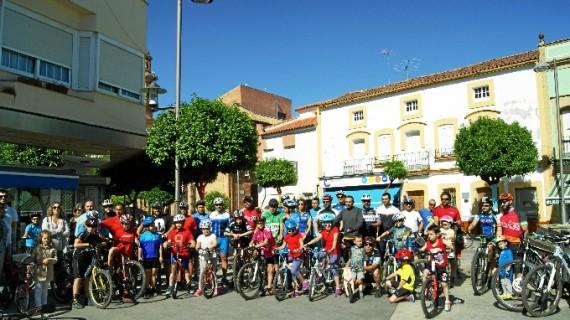 Nerva celebra el Día del Medio Ambiente con un paseo urbano en bici para todas las edades