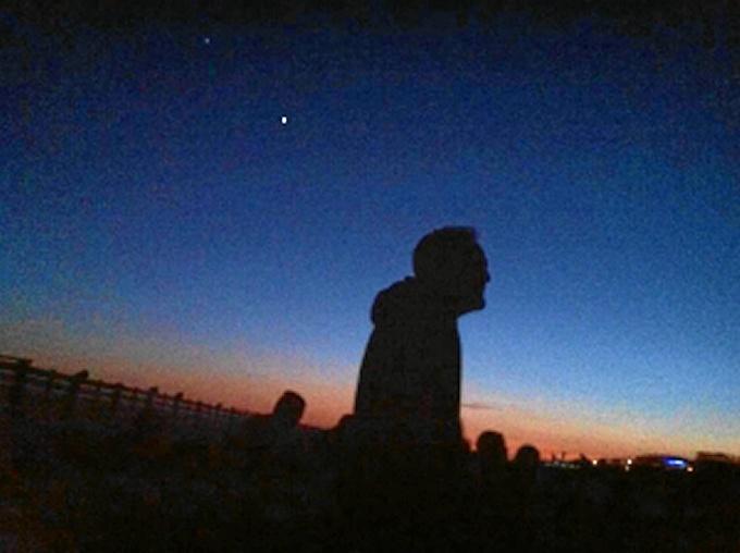 Platalea invita a los niños a contemplar las estrellas