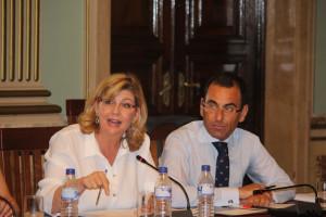 Berta Centeno y Ángel Sánchez.