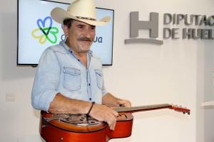 Javier Valenzuela, del grupo Harley Daniels.