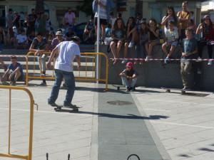 Lepe acogió una competición de skate. / Foto: María José Cabanillas.