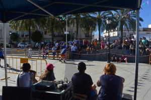 También hubo exhibiciones de break dance. / Foto: María José Cabanillas.
