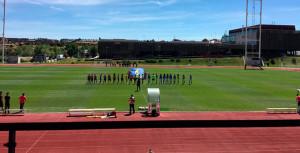 último partido de la gran temporada del cuadro onubense. / Foto: @sportinghuelva.