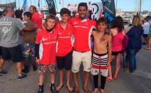 Los deportistas del Real Club Marítimo y Tenis de Punta Umbría brillaron en la Copa de España de óptimist.