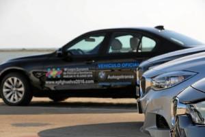BMW, coche oficial de los Juegos.