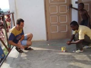 Juan José lleva 11 años de misionero en África.