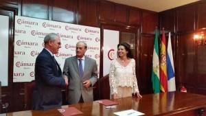 La Cámara de Comercio firma un convenio con Eco-Lex Gestión.
