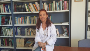 La doctora Dolores Merino.