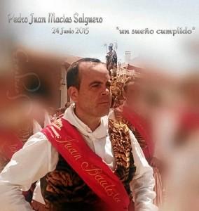 Pedro Juan Macías Salguero, uno de los cascabeleros de 2016.