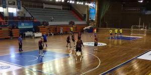 El Andrés Estrada alberga los partidos de fútbol sala.