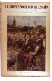 Una portada de 'La Correspondencia de España'. / Foto: argonauta.revues.org